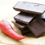 bonbons met rode peper