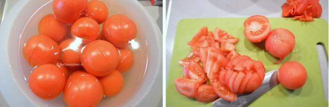 italiaanse tomatensoep met spekstengels