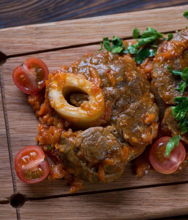 ossobuco maken stoofvlees kalfsschenkel uit milaan