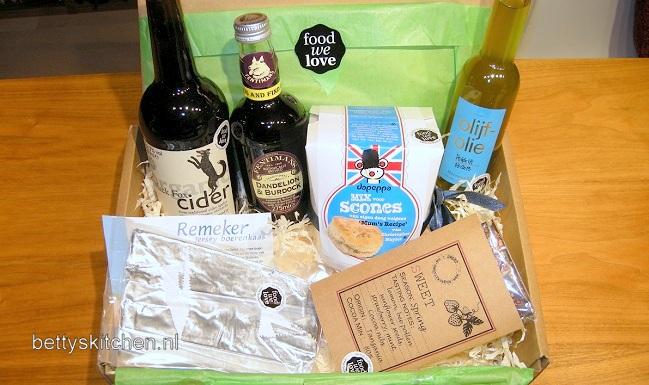 FoodWeLove box (een-verrassing-voor-jezelf-box)