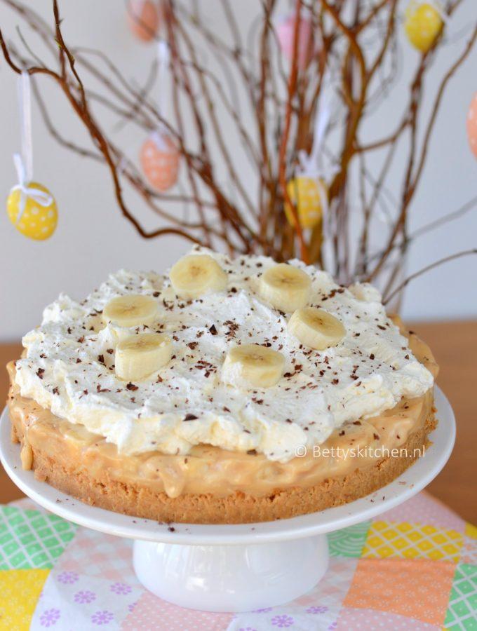 Banoffee Pie (banaan-karamel taart)