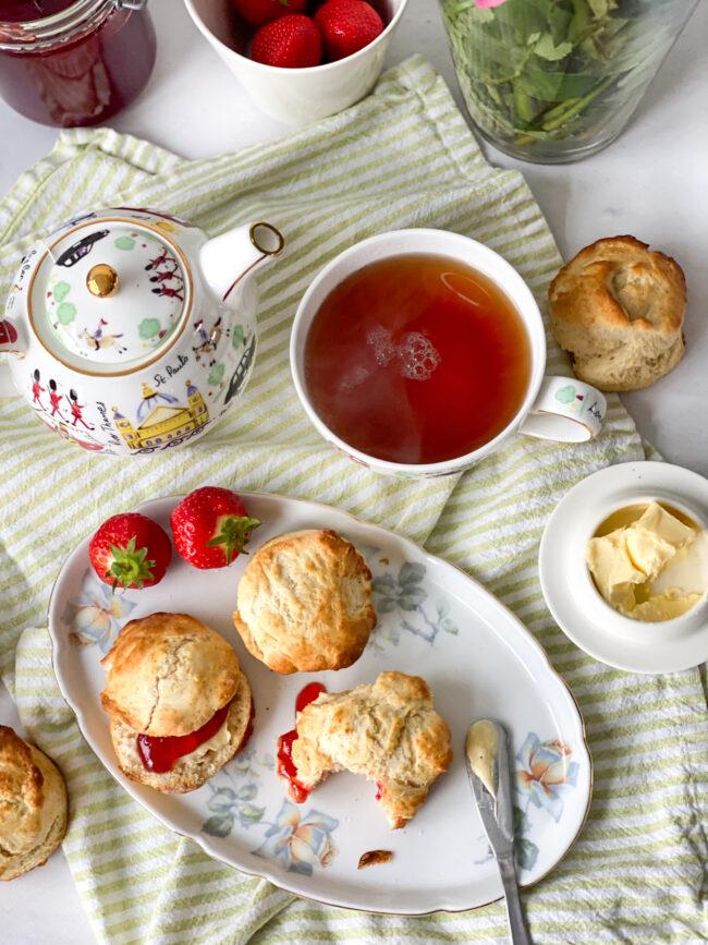Recept traditionele scones maken © bettyskitchen.nl