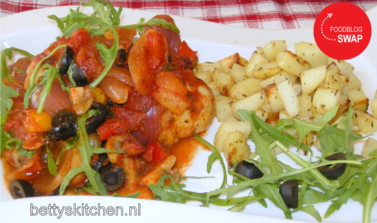 Kip Met Chorizo Uit De Oven Bettys Kitchen