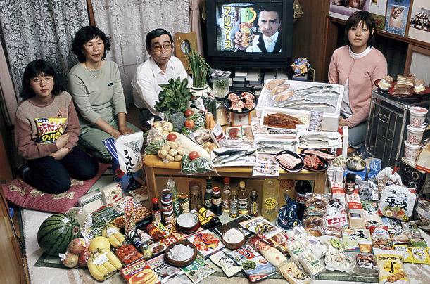 Eetcultuur in verschillende landen Japan
