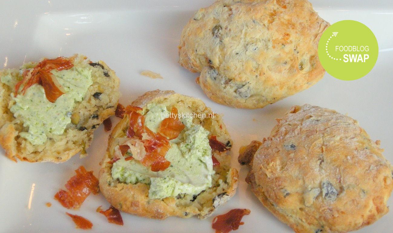 Hartige scones met kaas