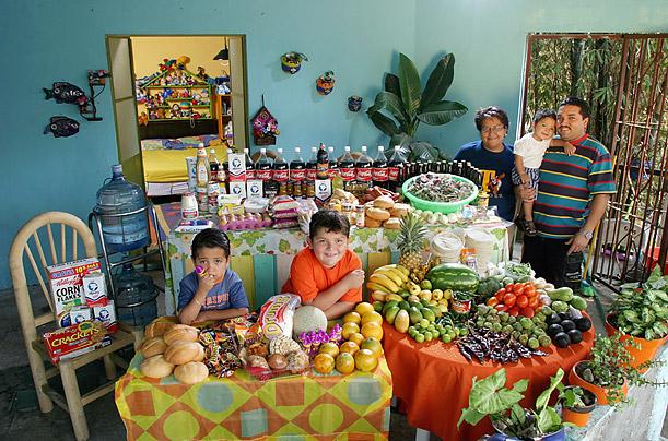 Eetcultuur in verschillende landen Mexico