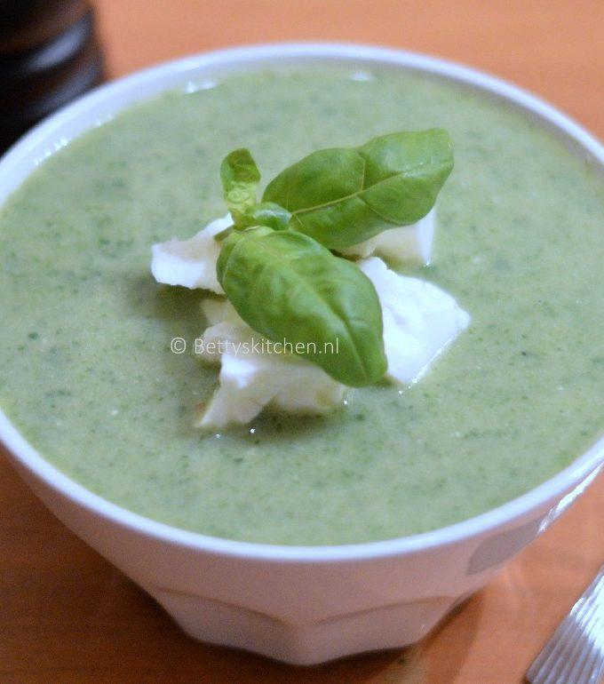 groene feta soep recept