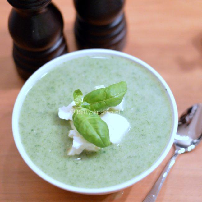 Groene Feta soep