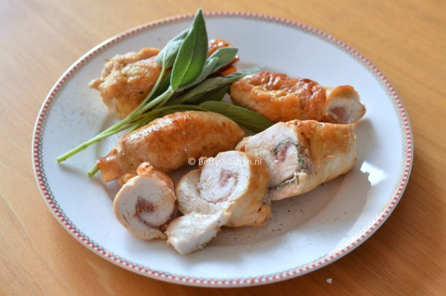 saltimbocca van kipfilet recept betty's Kitchen