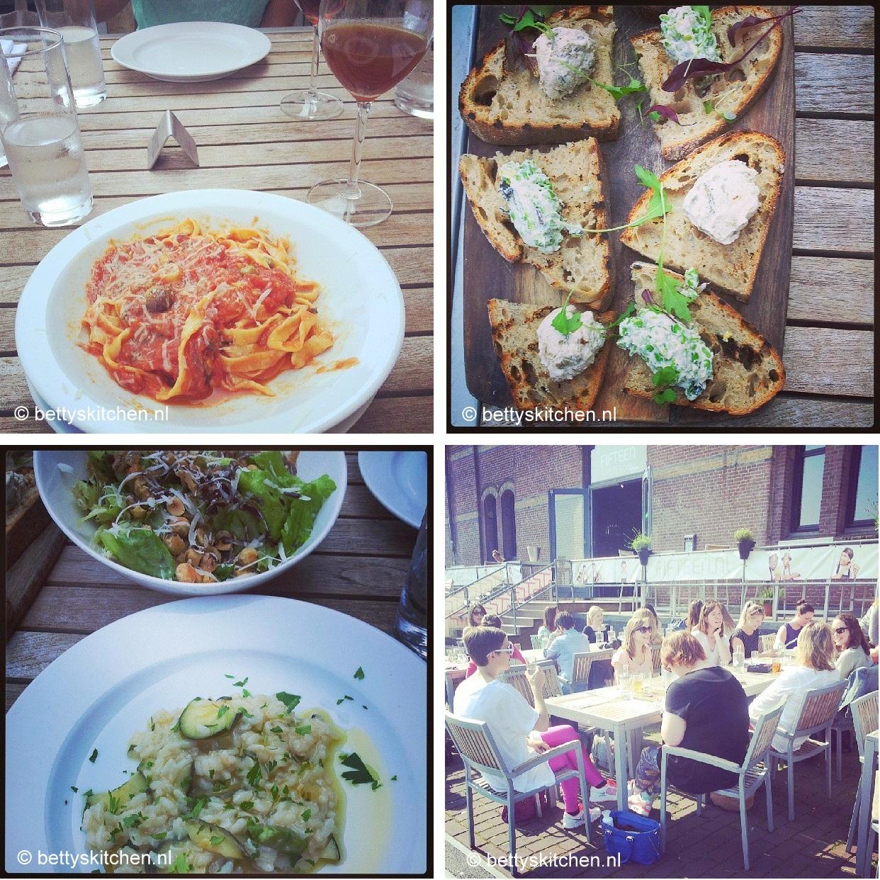 de lunch van het Jamie Magazine foodbloggers event