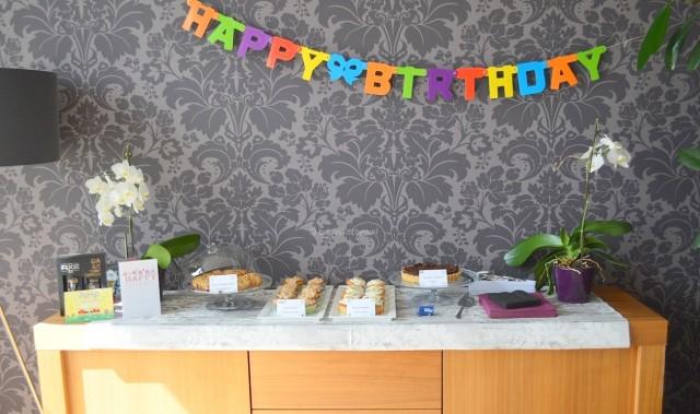 En naast mijn blogverjaardag vierden we ook Dylan's verjaardag