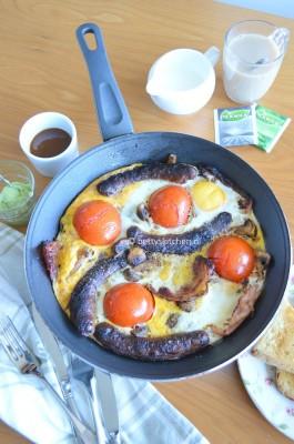 ..waar Jamie Oliver speciaal een anti-kater ontbijt voor bedacht