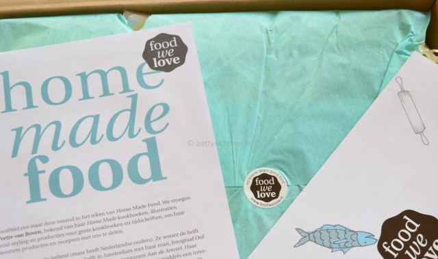 Filmpje: Unboxing de FoodWeLove box Augustus 2013