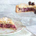 kersen kruimel taart deeg recept