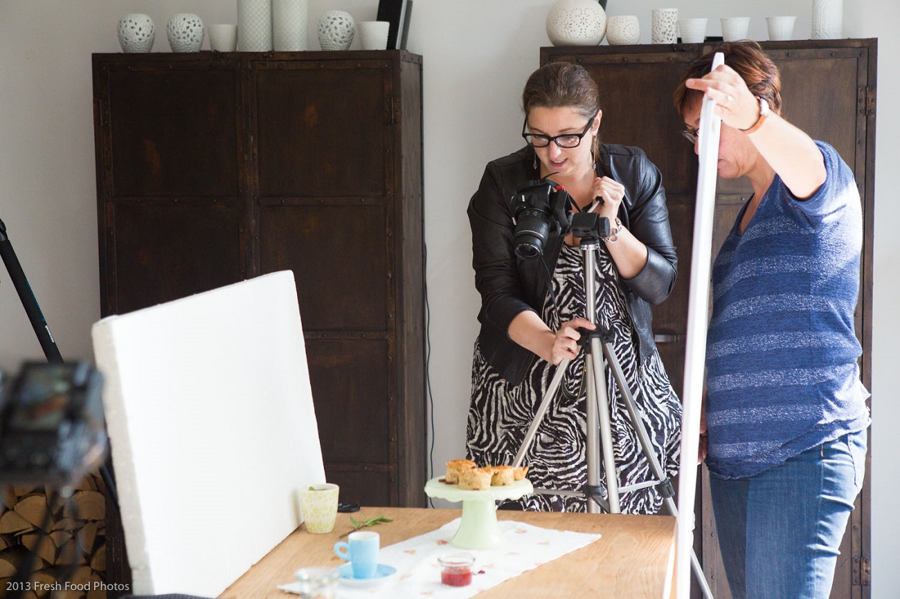 Workshop styling en fotografie voor foodbloggers