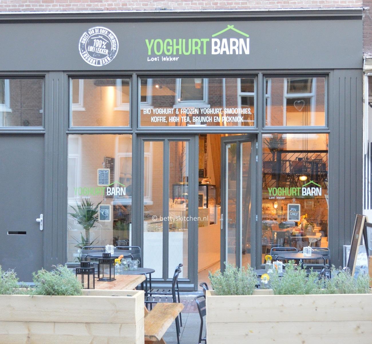 Yoghurt Barn bloggers event