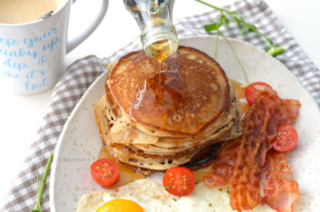 recept american pancakes maken © bettyskitchen