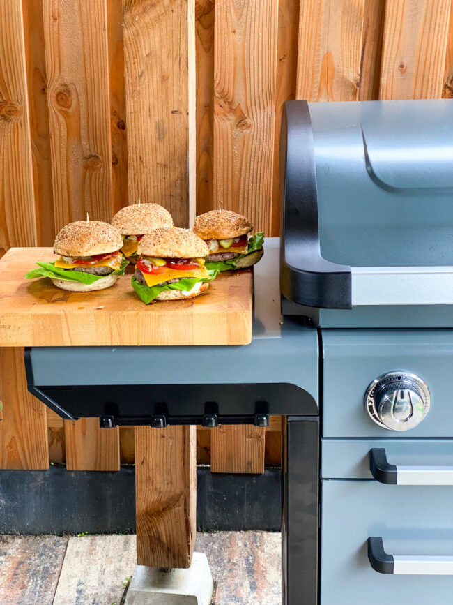 recept voor maken van het klassieke broodje hamburger © bettyskitchen.nl