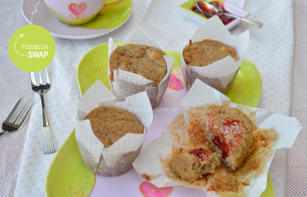 Rabarber muffins (glutenvrij en suikervrij)