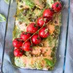recept zalm met pesto uit de oven © bettyskitchen.nl