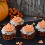Halloween pompoen cupcakes recept bettys kitchen