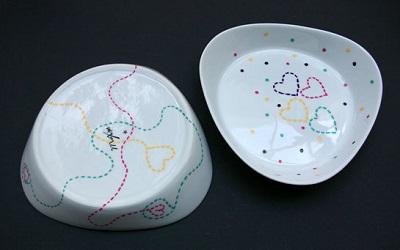 Porceleinen schaaltjes