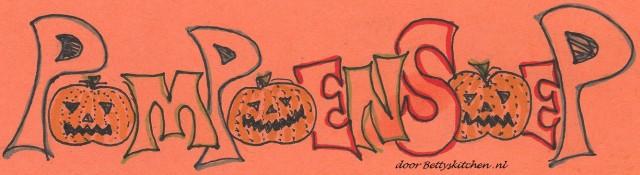 halloween pompoensoep printable recepten kaart
