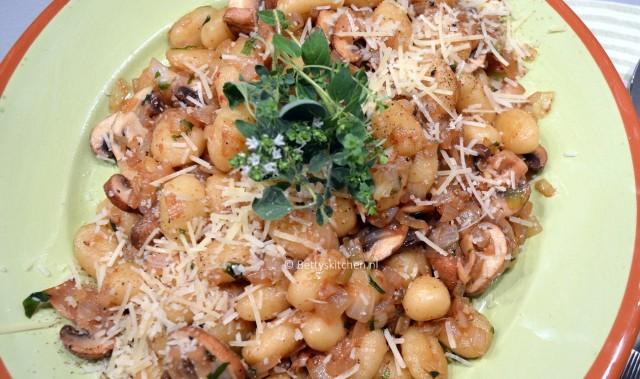 Gnocchi met champignons 1-001
