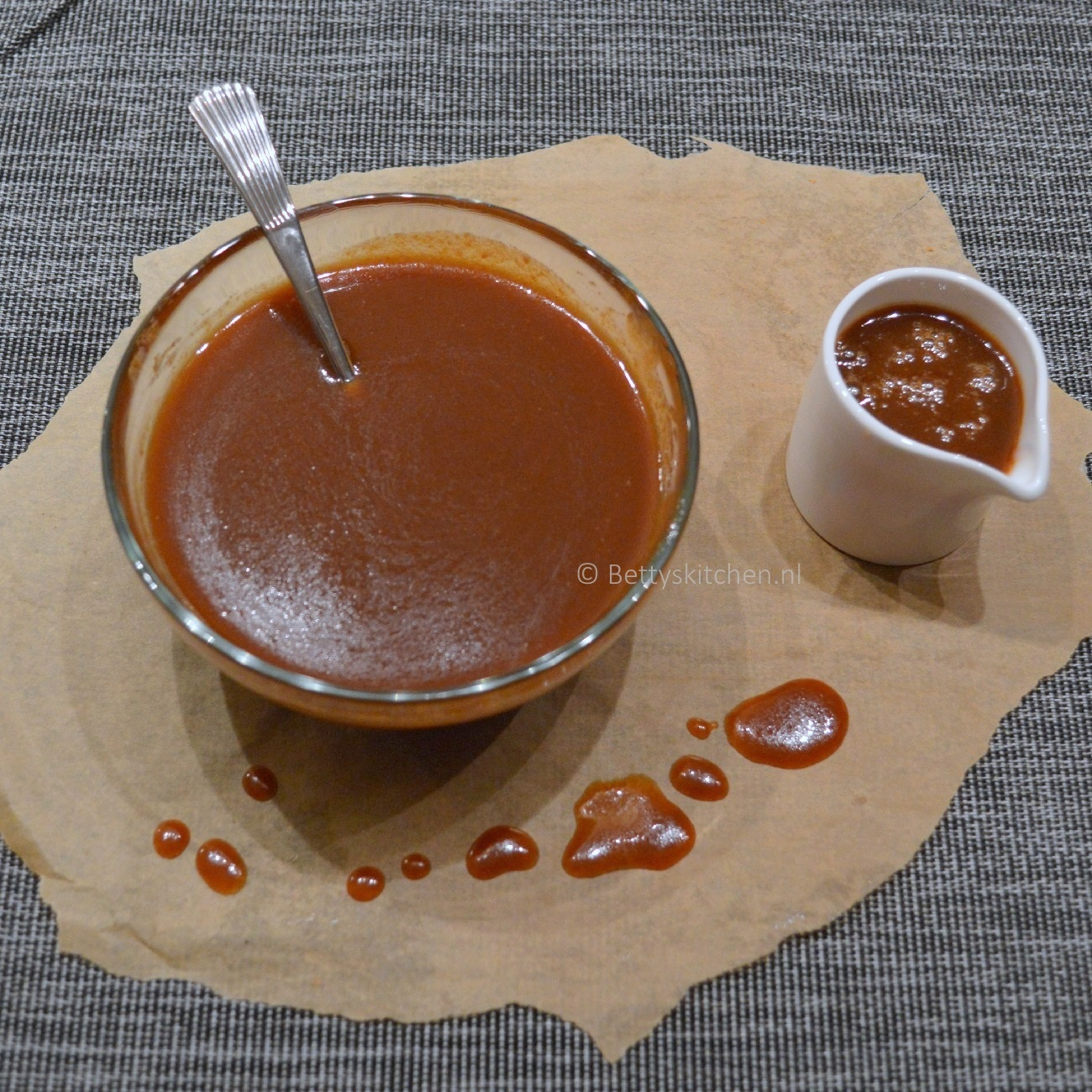 Zelf karamelsaus maken