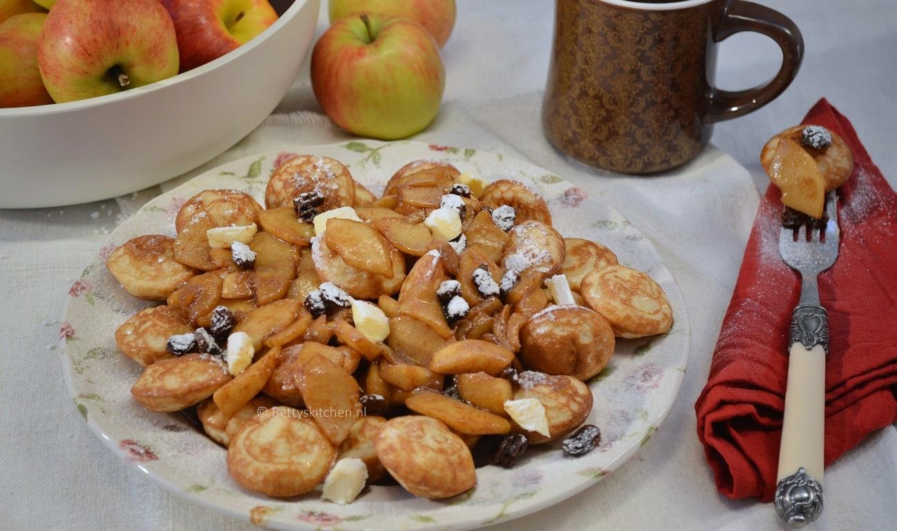Poffertjes met gesuikerde appels 1-001