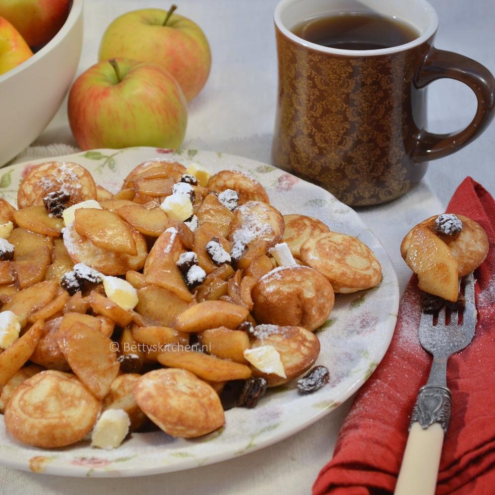 Poffertjes met gesuikerde appels 3-001