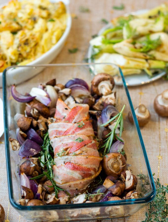 recept varkenshaas uir de oven in spek © bettyskitchen.nl