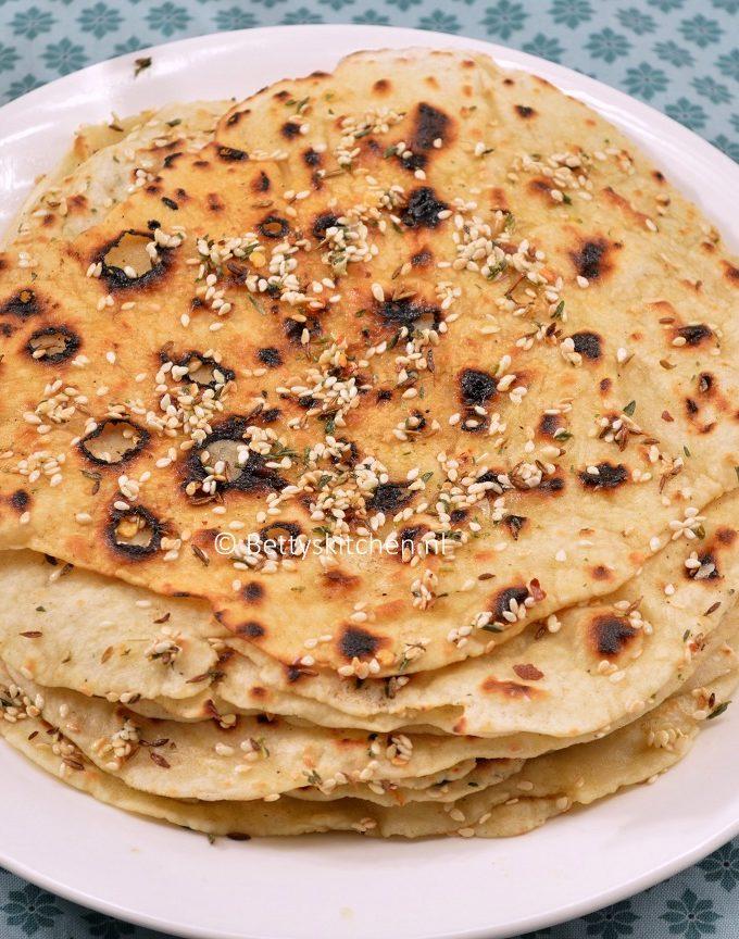 lavash platbrood recept met 3 ingredienten