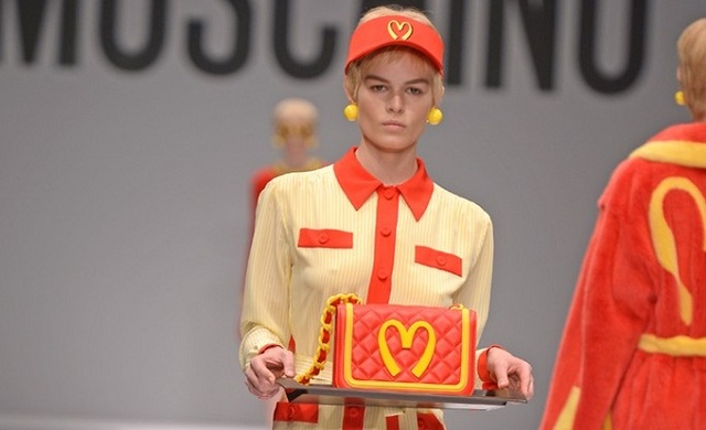 Food fashion van Moschino