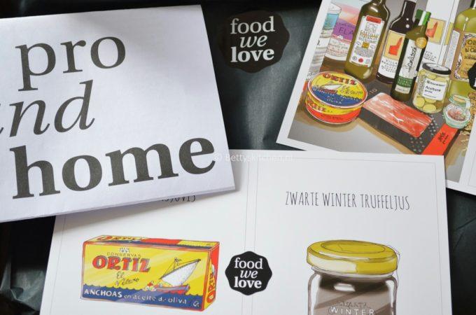 Filmpje: Unboxing FoodWeLove Box Februari 2014