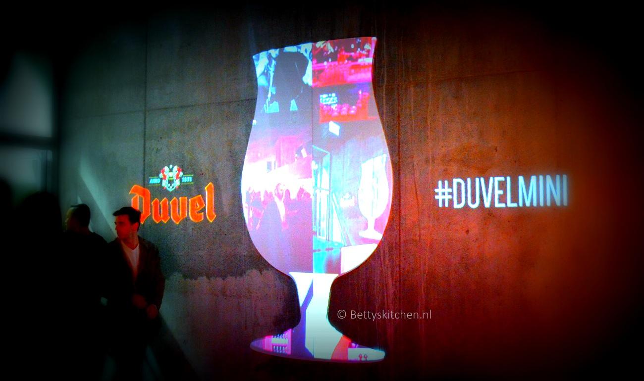 Lancering Duvel Mini flesje 18cl