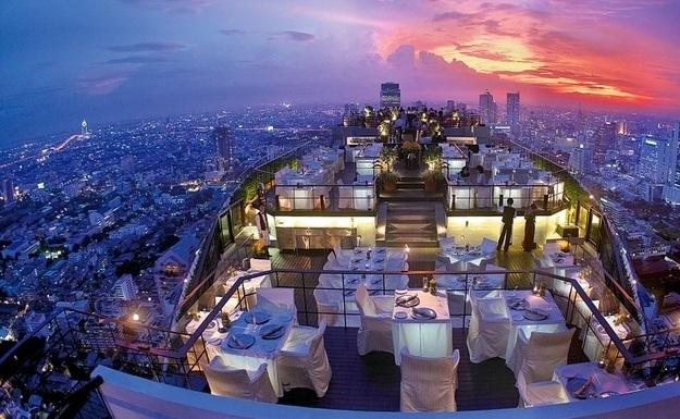 Restaurants met spectaculair uitzicht