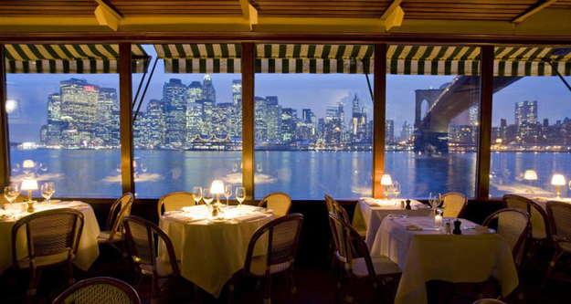 Restaurants met spectaculair uitzicht river cafe brooklyn new york