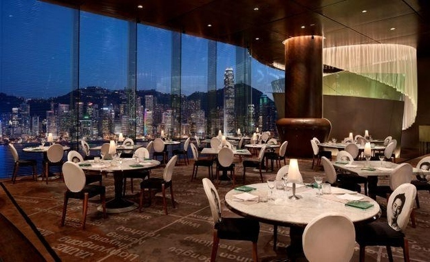 Restaurants met spectaculair uitzicht felix hongkong