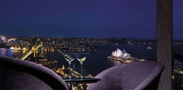 Restaurants met spectaculair uitzicht blue bar on 36 sydney