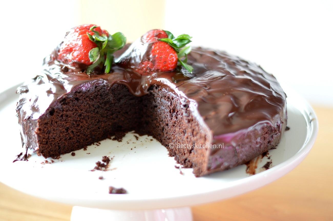 Chocolade Mud Cake met Amarula