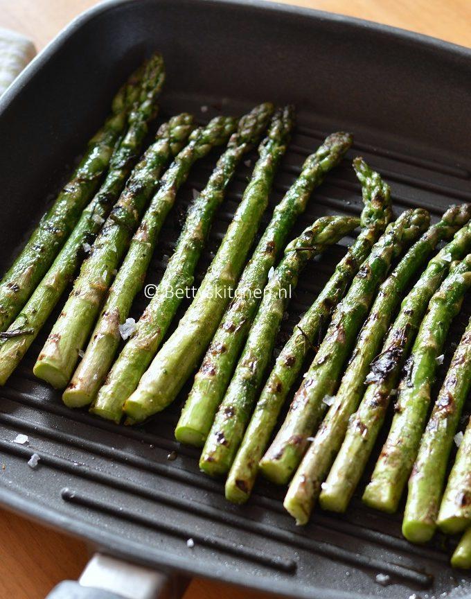 recept gegrilde groene asperges © bettyskitchen.nl