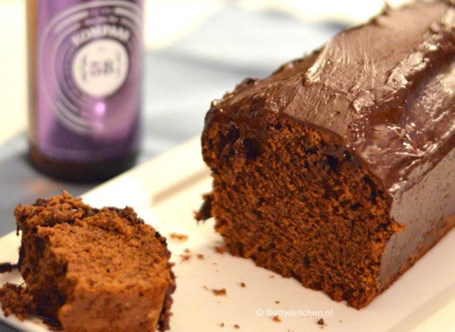 Chocolade Biercake voor échte mannen recept bettys kitchen