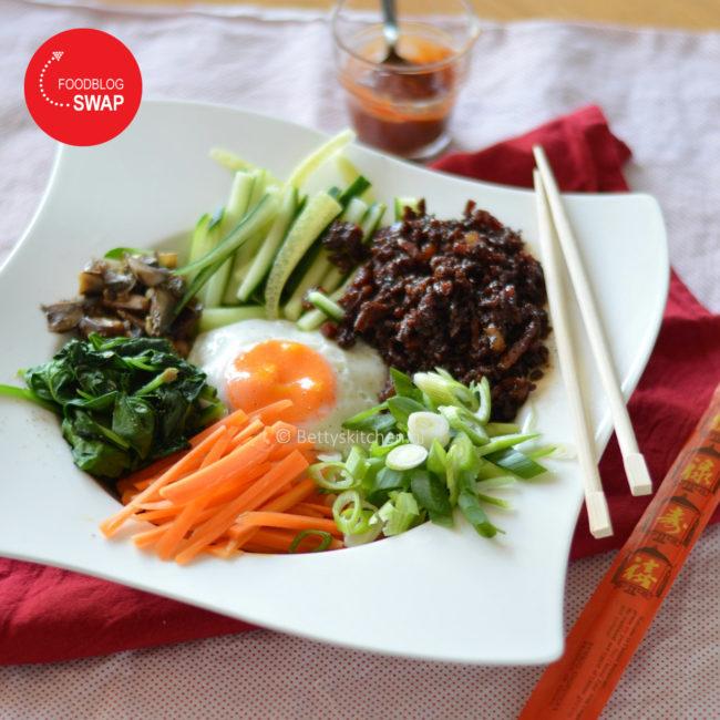 Bibimbap (Koreaans rijstgerecht)