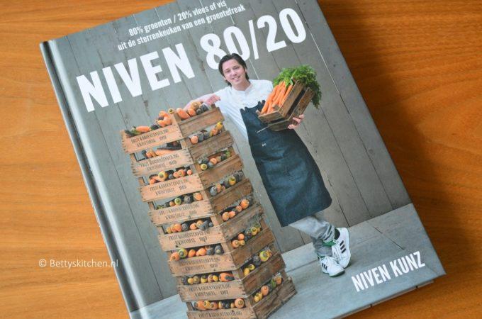NIVEN 80/20 kookboek van sterrenchef Niven Kunz + WINACTIE
