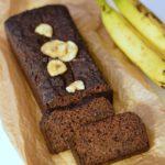 bananabread met chocolade
