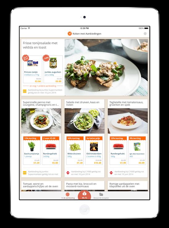 koken_met_aanbiedingen_tablet