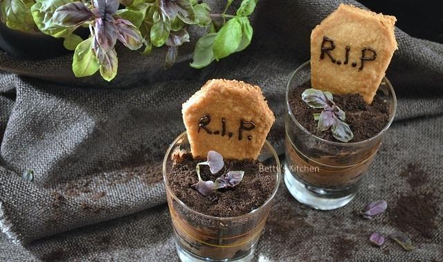 halloween chocolade kerkhofjes