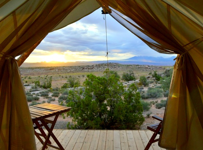 Filmpje: Moab under Canvas (Glamping in Utah, VS)