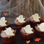 spookjes cupcakes met chocolade halloween recept